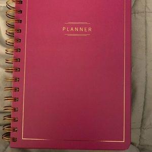 Undated planner